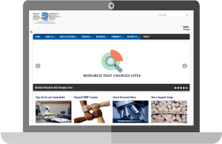 Dystonia Medical Research Foundation Canada homepage