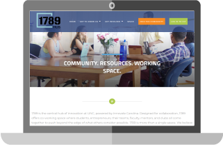 1789 Hub Homepage