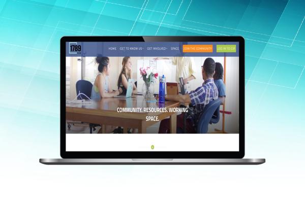 1789 website design