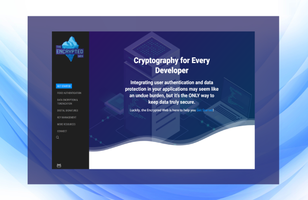 The Encrypted Web UX design